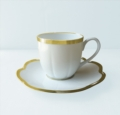 Royal Limoges Nymphea - Margaux gold Coffee cup