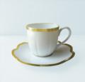 Royal Limoges Nymphea - Margaux gold Coffee saucer