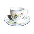 Royal Limoges Nymphea - Paradis bleu Coffee cup