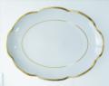 Royal Limoges Nymphea - Margaux gold Oval platter large