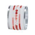 Bodrum Belgravia Red Napkin Ring