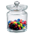 """Badash Lexington Aladdin 5.5"""" Mouth Blown Lead Free Crystal Biscuit or Candy Jar"""