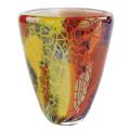 Badash Firestorm Firestorm Murano Style Art Glass 8