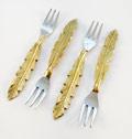$35.00 Coctail Forks 4 pcs set