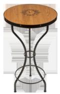 $895.00 BAR TABLE W/ GOLDEN OAK TOP