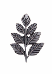 Buck Snort Lodge Leaves & Trees Fern Leaf Oil Rubbed Bronze Cabinet Knov