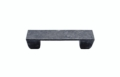 Buck Snort Lodge Geometric Rectangle 3-In Center to Center Pewter Ox Cabinet Pull