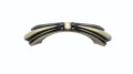 Buck Snort Lodge Beaded Elegance Beaded Elegance Dual Mount 3-in or 3-3/4-in Center to Center Satin Brass Arch Cabinet Pull