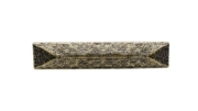 Buck Snort Lodge Rustic/Lodge Rustic Pyramid 3-3/4-in Center to Center Brass Ox Cabinet Pull