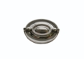 Buck Snort Lodge Tuscany Tuscany 2-1/4-In Center to Center Satin Nickel Oval Drop Cabinet Pull