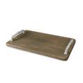 Beatriz Ball Wood Soho tray w/bolt handles (lg) ash