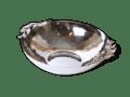 Carmel Ceramica Oliveira Stainless Steel Large Serving Bowl