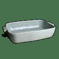 Carmel Ceramica Cozina Rectangular Baker - Gray