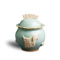 $60.00 Treat Jar - Sky Blue