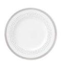 Kate Spade Charlotte Street Grey East salad plate