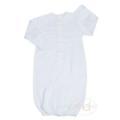 $39.95 Nature's Nursery Stripe Gown - Blue