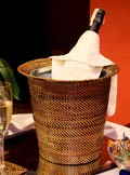 $111.55 Wine Holder with Galvanized bucket