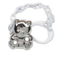 Cunill  .925 Sterling Cub Pacifier Clip