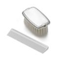 $105.00 Empire Boys Pewter Comb & Brush Set