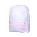 $24.00 Pink Seersucker Med Backpack