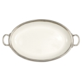 Match Tuscan Oval Tray with Handles
