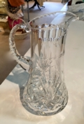 Majestic Gifts Crystal Pitcher