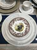 $34.00 Woodland Spode Salad Plates - various Animals
