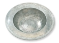 Match Wide Rimmed Pewter Bowl
