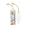Portus Cale Sardine Soap on a Rope w/ Scented Bookmarker