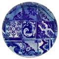 Costa Nova Lisboa Tiles Round Platter