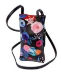 26 Black Floral Cell Phone Holder