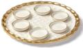 159.99 Truro Gold Seder Plate