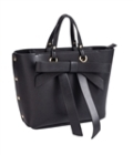 Sydney Love Bags Bow Satchel / tote small Black