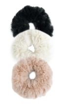 Domain XCIV Exclusives MISC Couture scrunchies set of 3