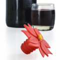 Charles Viancin POINSETTA BOTTLE STOPPER