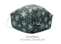 12.5 SNOWFLAKES FACE MASK