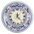 Deruta Of Italy Ricco Deruta Round Wall Clock