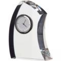 Dartington Crystal Clocks Medium Crescent Clock