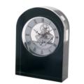 Dartington Crystal Clocks Curve Clock Black