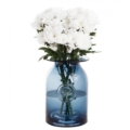 70 RHS-Large Ink Blue Flower Jar