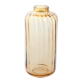 Dartington Crystal Gems Gems Large Amber Lantern Vase