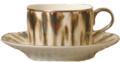 16 Cream Scale Platinum Tea Saucer