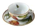 Anna Weatherley Pannonian Garden Double Tulips Cup & Saucer