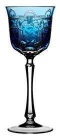 Varga Imperial Sky Blue Wine Glass