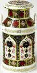 Royal Crown Derby Old Imari - Gift Boxed Churn