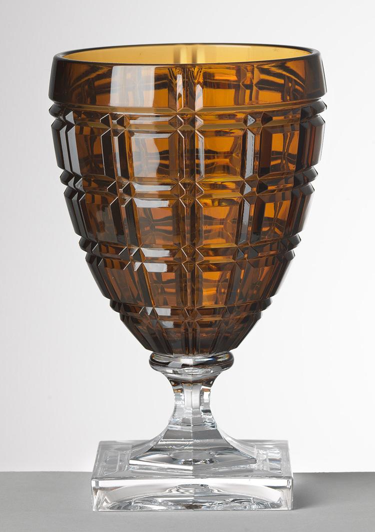 Mario Luca Giusti Stemware - Winston Amber Water