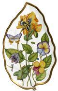 Anna Weatherley Midsummer Leaf Tray