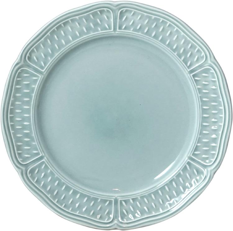 Gien Pont Aux Choux Celadon (Earth Grey) Canape Plate