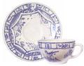 Gien Oiseau Blue & White Tea Cup