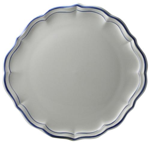 Gien Filet Bleu Cake Platter